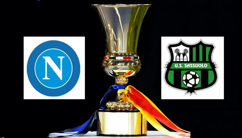 Napoli-Sassuolo di Coppa Italia, dove vederla in tv e streaming