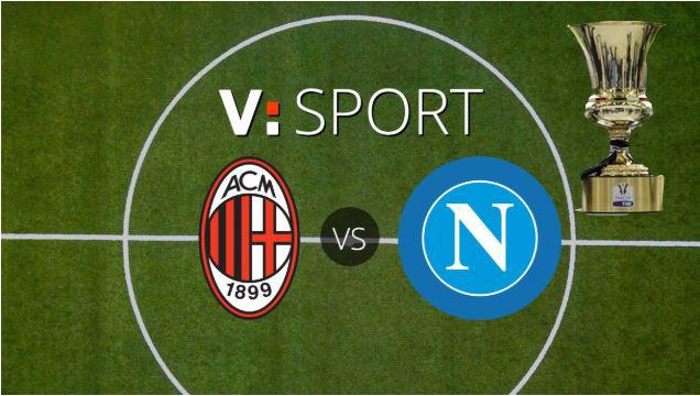 Calendario Napoli Coppa Italia.Milan Napoli Di Coppa Italia Dove Vederla In Tv E Streaming