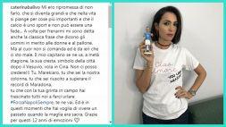 Napoli: Balivo saluta Hamsik così, le più belle foto di Caterina