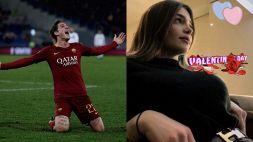 Roma: ecco chi è la fidanzata di Zaniolo, nuova wags giallorossa