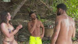 L'Isola dei flirt: Ghezzal e Ariadna Romero molto vicini