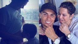 Cristiano Ronaldo sarà presto di nuovo zio, l'annuncio sul web