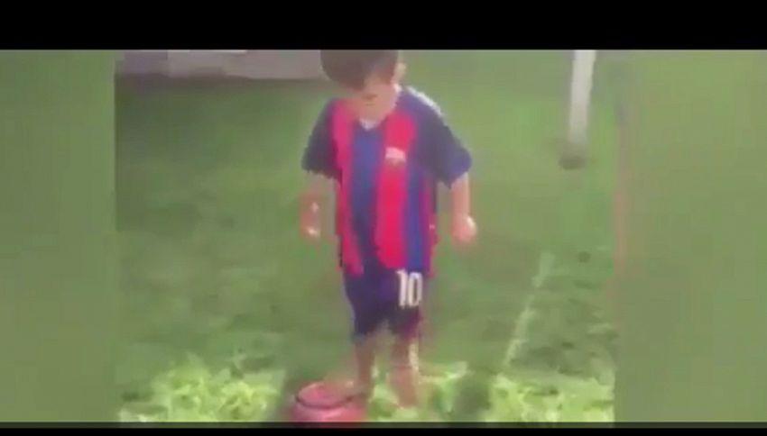 Baby prodigio a 3 anni, il Manchester City chiama la mamma