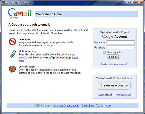 Come si crea un account di posta elettronica Gmail?