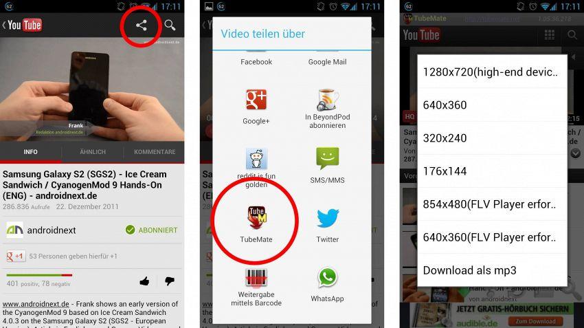 Tubemate, l'applicazione per scaricare video su Android