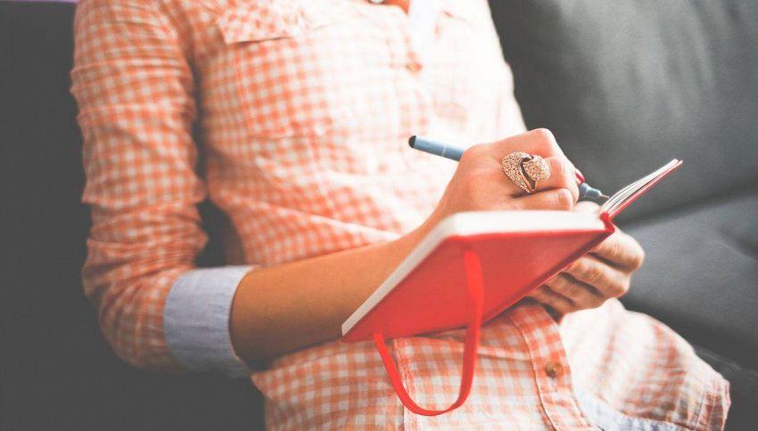 2 minuti e 4 colonne: il diario per chi non ha tempo