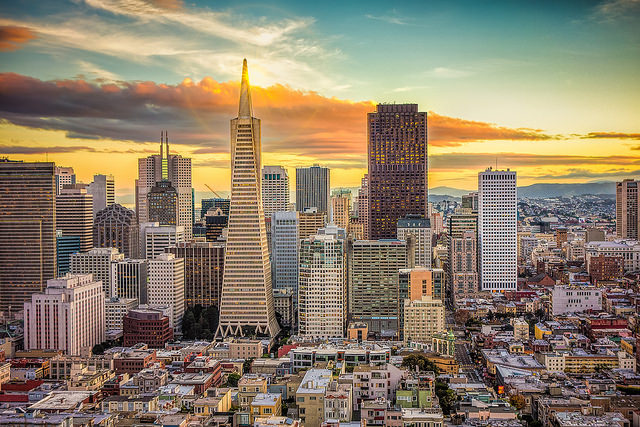 San Francisco, tra il Golden Gate Bridge e la Octagon House