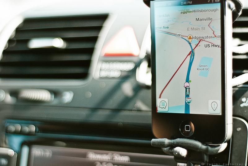 navigatore per telefonino