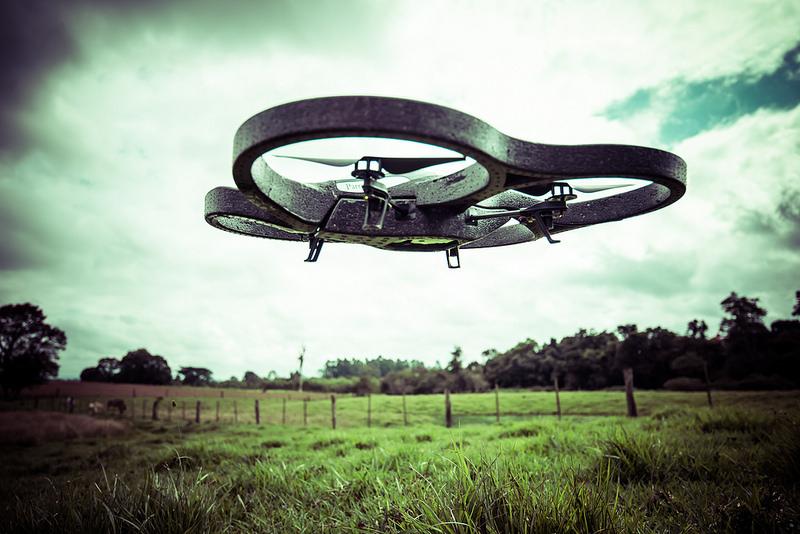 Arriva il drone contadino, con il kit Parrot Sequoia