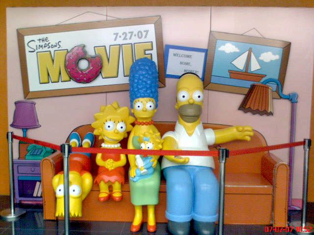 I Simpsons, nati per caso in 15 minuti