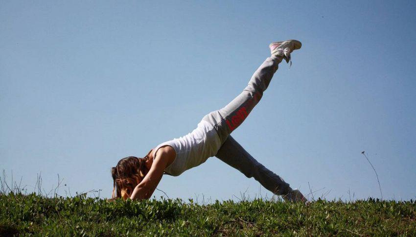 Essere sempre in forma con 5 minuti di allenamento al giorno