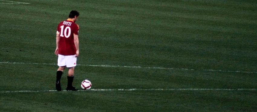 Francesco Totti, 24 anni di Roma