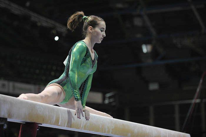 Carlotta Ferlito: una stella della ginnastica artistica