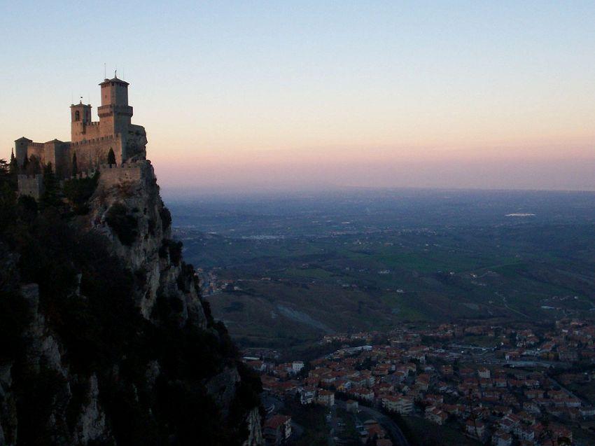 Città di San Marino: borgo arroccato sul monte Titano