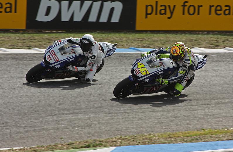Jorge Lorenzo: un pilota di moto da corsa, un campione