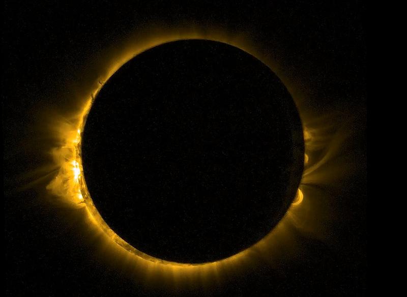 Eclissi totale di sole: lo spettacolo è l'8 e il 9 marzo