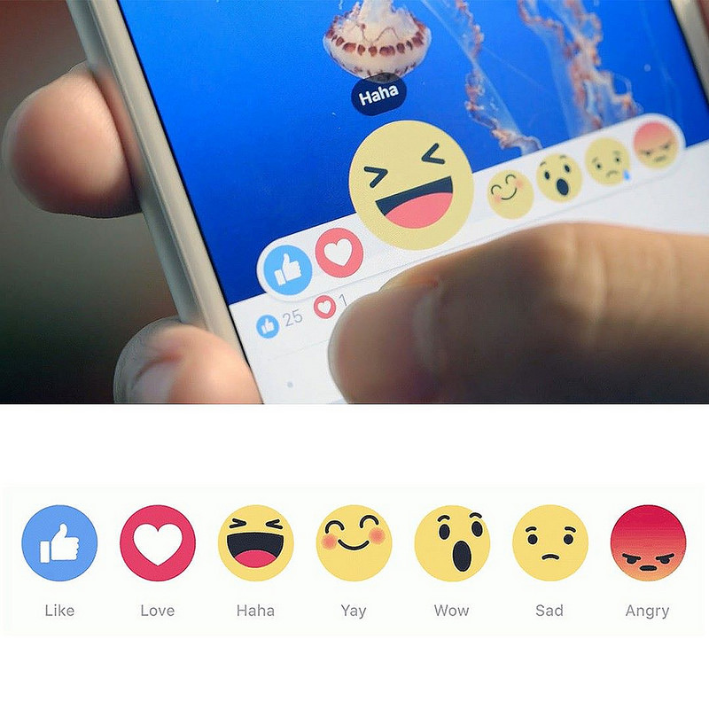 Reaction personalizzate su Facebook, grazie a Reaction Packs