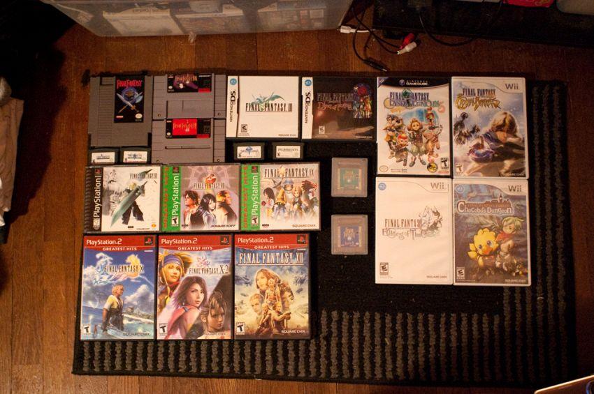 Tutti i Final Fantasy da giocare su pc e smartphone