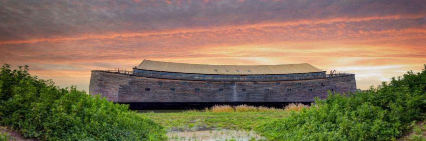 L'Arca di Noè a grandezza naturale, per una crociera mitica