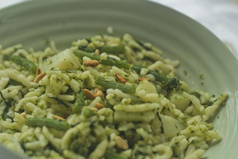 Pesto di fagiolini: ingredienti e preparazione della ricetta