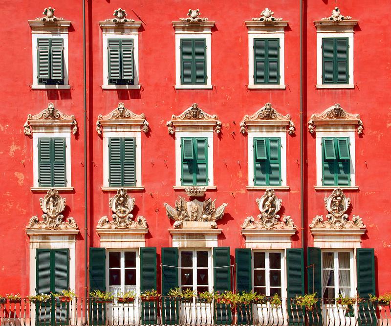 Latest cambiare il colore della facciata with colori facciate - Colore facciata casa ...