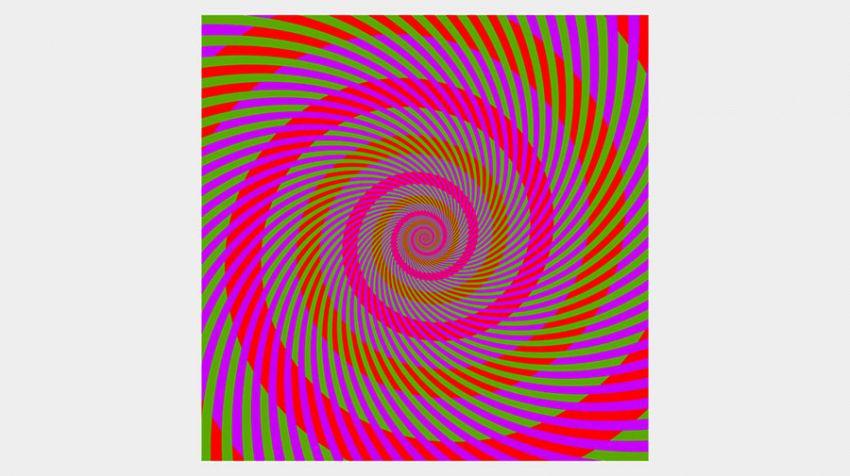 Quanti colori ci sono nelle spirali? Il quiz che fa impazzire la rete