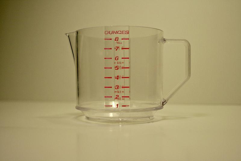 Misurare i liquidi: che differenza c'è tra cc e ml