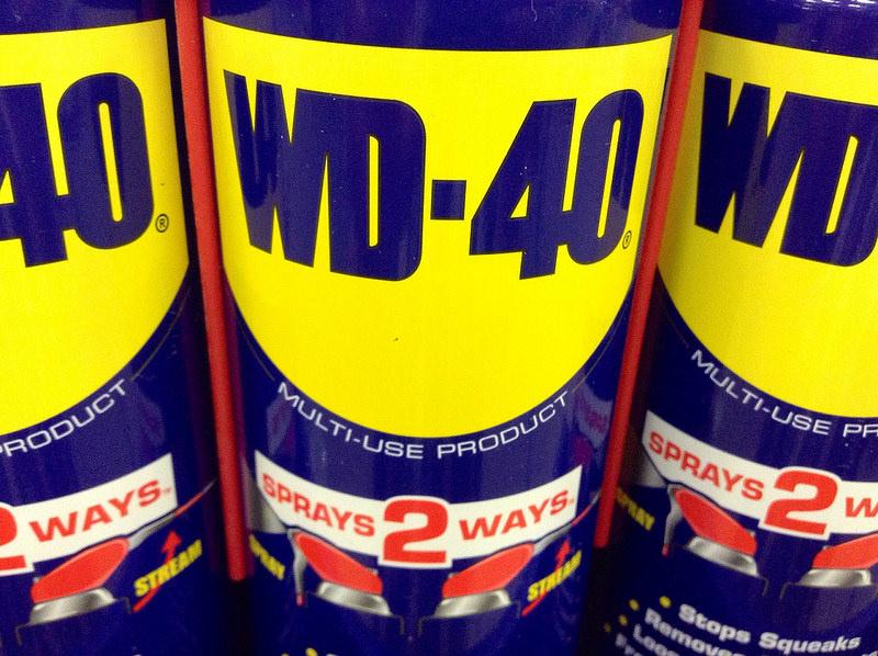 A cosa serve il wd40, il lubrificante multifunzione tuttofare