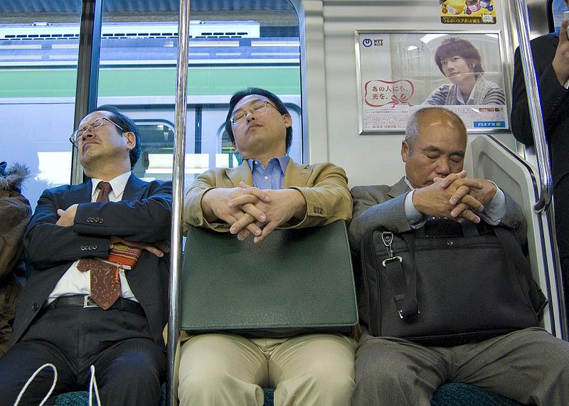 Inemuri, come fanno i Giapponesi a (non) dormire