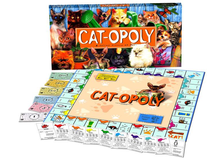 Cat-opoly, è il gioco di famiglia per gli amanti dei gatti
