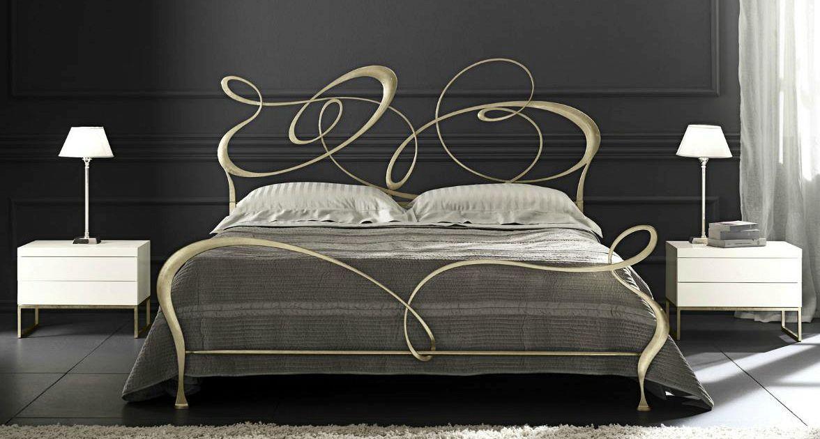 Come creare una testiera da letto in ferro battuto supereva - Come fare una testiera del letto ...