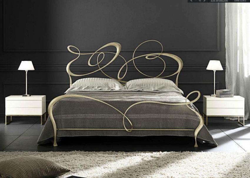 Come creare una testiera da letto in ferro battuto supereva - Camere da letto ferro battuto ...