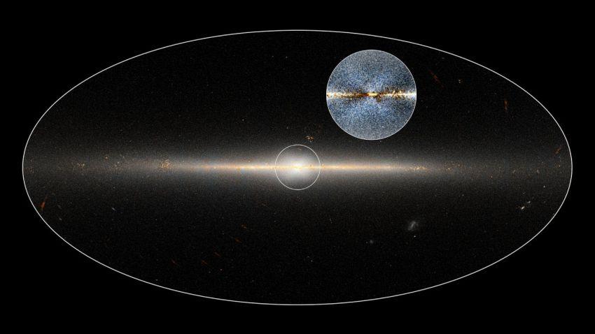 Al centro della galassia c'è una misteriosa struttura a forma di X