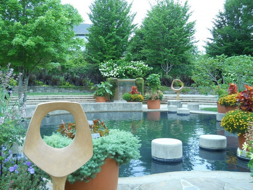 Come fare giardino zen da esterno: sabbia, rocce e piante