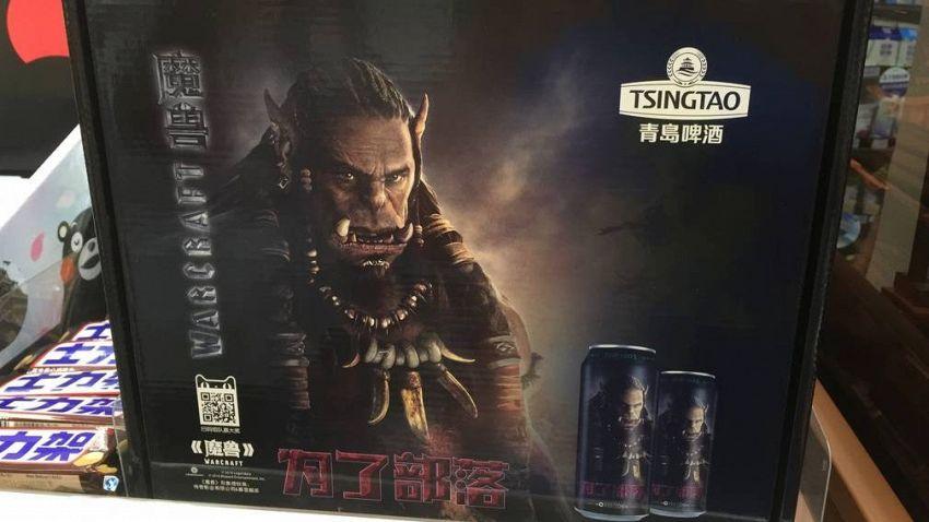 Tsingtao è la birra degli orchi, marchiata Warcraft e venduta in Cina