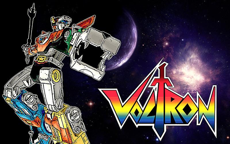Tutto su Voltron, la serie tv sci-fi a disegni animati americana