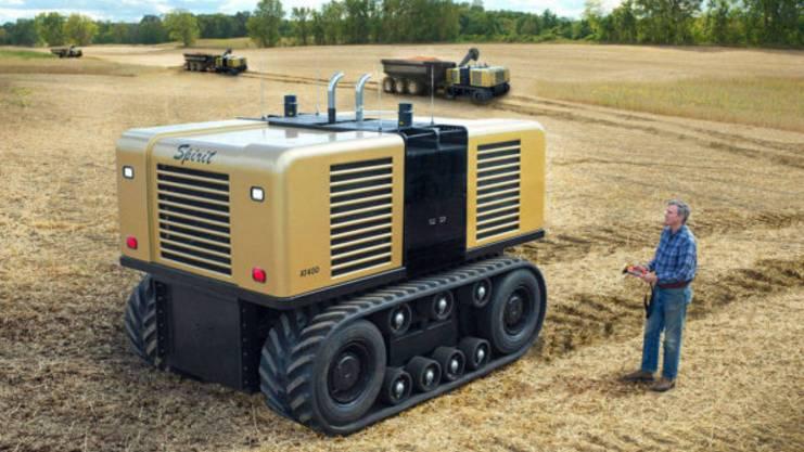La carica dei contadini d'acciaio, robot intelligenti e instancabili