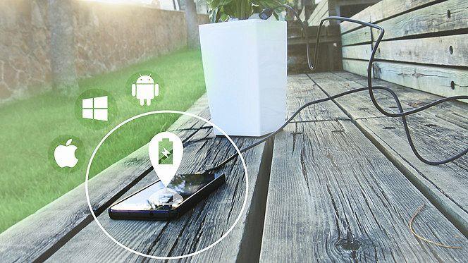 Bioo, come ricaricare lo smartphone con le piante in casa