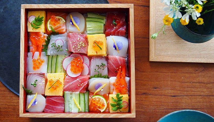 Il nuovo trend giapponese è il 'Sushi Mosaico'