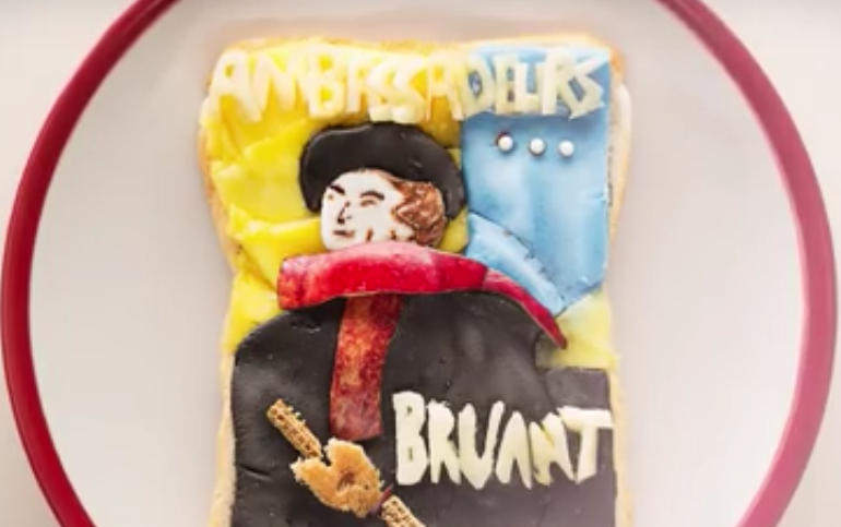 Da Mona Lisa a Van Gogh, le opere d'arte ricreate sul pane da tostare