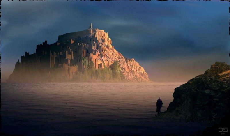 Arte nei videogiochi, i mondi impossibili di Daniel Schmelling