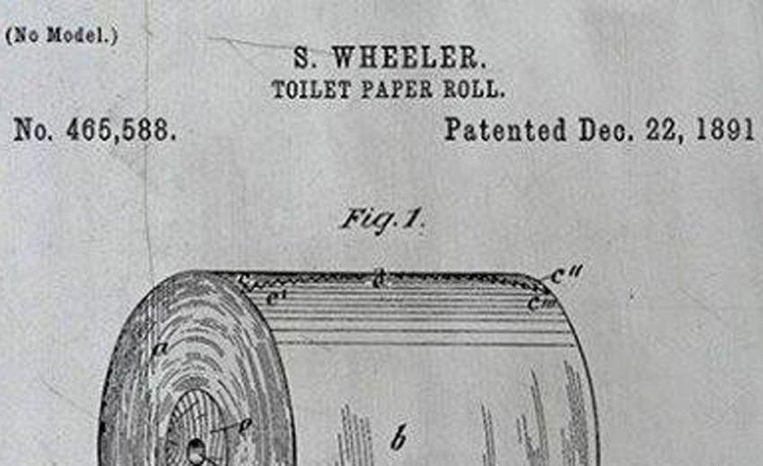 C'è solo un modo per appendere la carta igienica, lo dice il brevetto