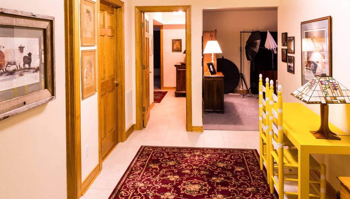 Corridoio Lungo Casa : Tappeto posto nel corridoio tappeto posto nel corridoio supereva