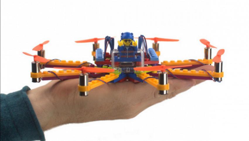 Flybrix: Ora puoi costruirti il tuo drone funzionante con i Lego