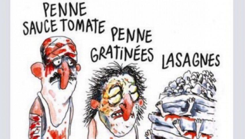 Dopo questa vignetta sulle vittime del terremoto, forse non sarete più tutti Charlie