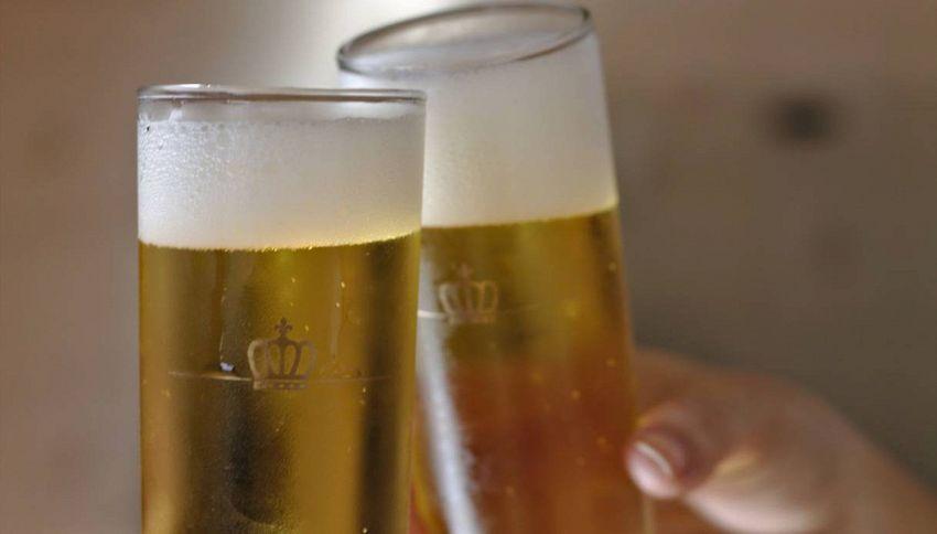 Ad Amsterdam la birra si produce con la pioggia
