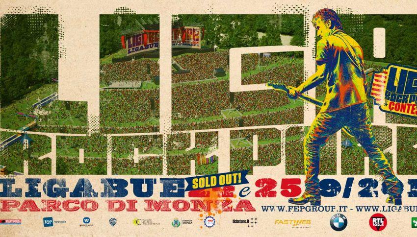 'Liga Rock Park': tutto sui concerti evento di Ligabue