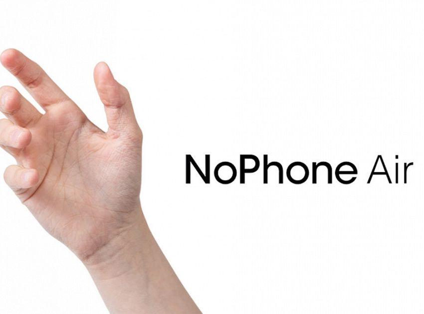 NoPhone Air, il telefono che non fa proprio nulla