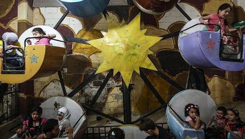Siria: il parcogiochi dei bambini è sotto terra