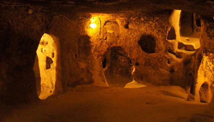 Le incredibili città sotterranee della Cappadocia